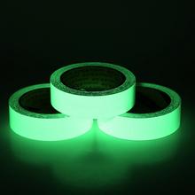3/10M 10/15/20 мм самоклеящаяся поверхность светящаяся лента светится в темноте зеленый дом Декор используется на бетонных полов лестничные ступени, подступни