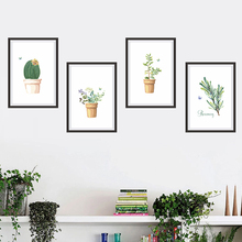 Landscape Photos Frame Wall Stickers Living Room Bedroom Decorations Home DIY PVC Decor Mural Wall Art Decorative Modern Decals