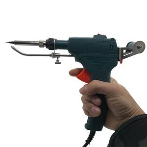 Image 2 - 110V/220V 60W Hand held Internal Heating Tin Electric Soldering Iron Kit Automatic Send Tin Gun Solder Repair Welding Tools