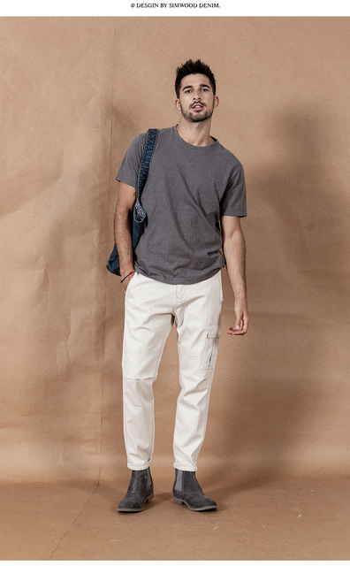 Summer T-Shirt with yarn dot neckline