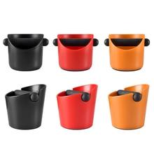 Ударопрочная Абсорбирующая коробка Realand ABS для эспрессо, противоскользящий контейнер для измельчения кофе, мусорное ведро со съемной балко...