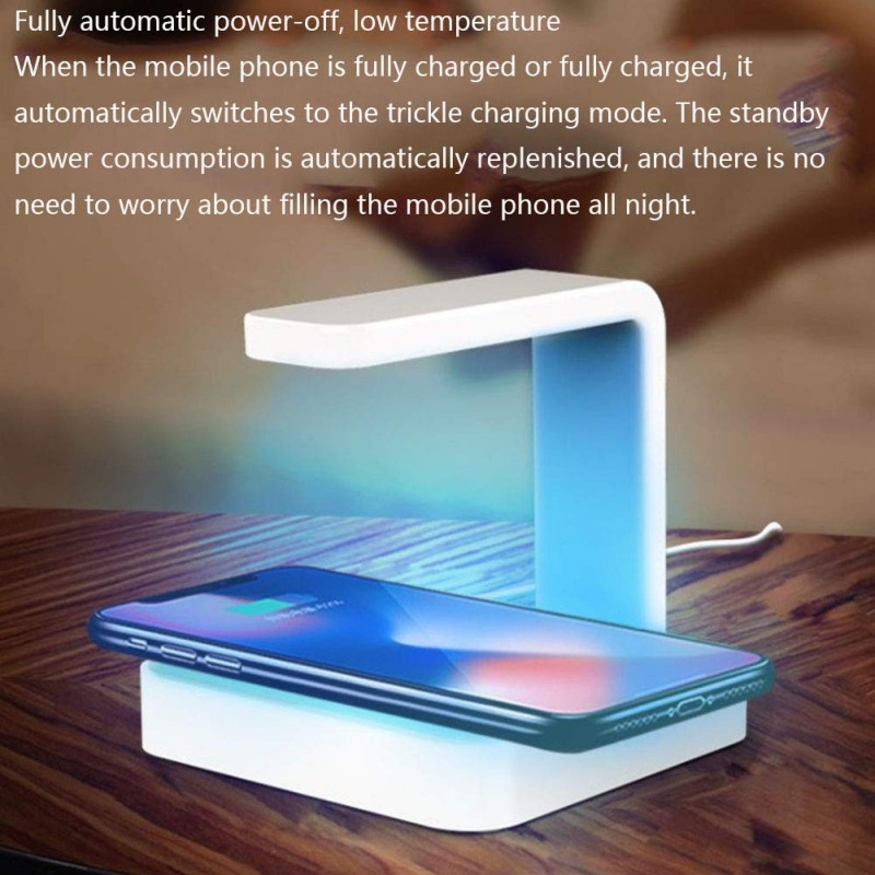 Cell Phone Sanitizer And Dual Universal Cell Phone Charger Wireless Charging Treasure UV Sterilization Sterilizer Dropshipping
