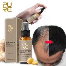 PURC produkty stymulujące porost włosów szybko rosną olejek do włosów leczenie utraty włosów pielęgnacja włosów opieka zdrowotna Beauty Dens Spray do wzrostu włosów 30ml