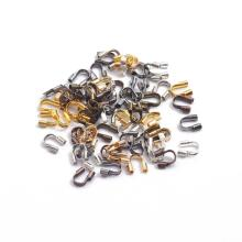 Wire-Protectors Clasps U-Shape-Accessories Jewelry-Making for 100pcs/Lot 4x4mm Wire-Guard