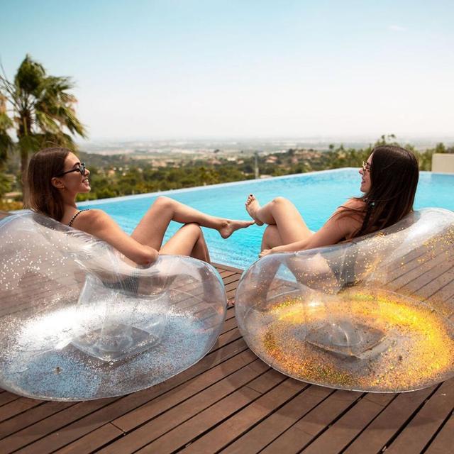Outdoor Single Transparent Sofa   5