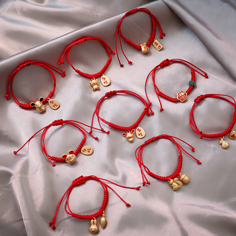 Korean Version 2020 New Net Red Same Rope <font><b>Bracelet</b></font> Simple Personality Knitting Gift Female Bracele Pandora <font><b>Bracelet</b></font> Pulseras image