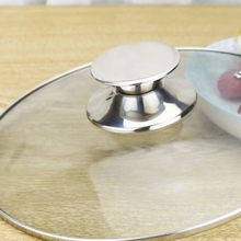 Lids Cover-Handle Lid-Knobs Cookware-Accessories Replacement Pans Wok Stainless-Steel
