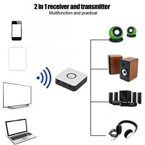 Image 5 - ABS الأبيض استقبال لاسلكي الارسال آلة المنزل معدات الصوت والفيديو الملحقات