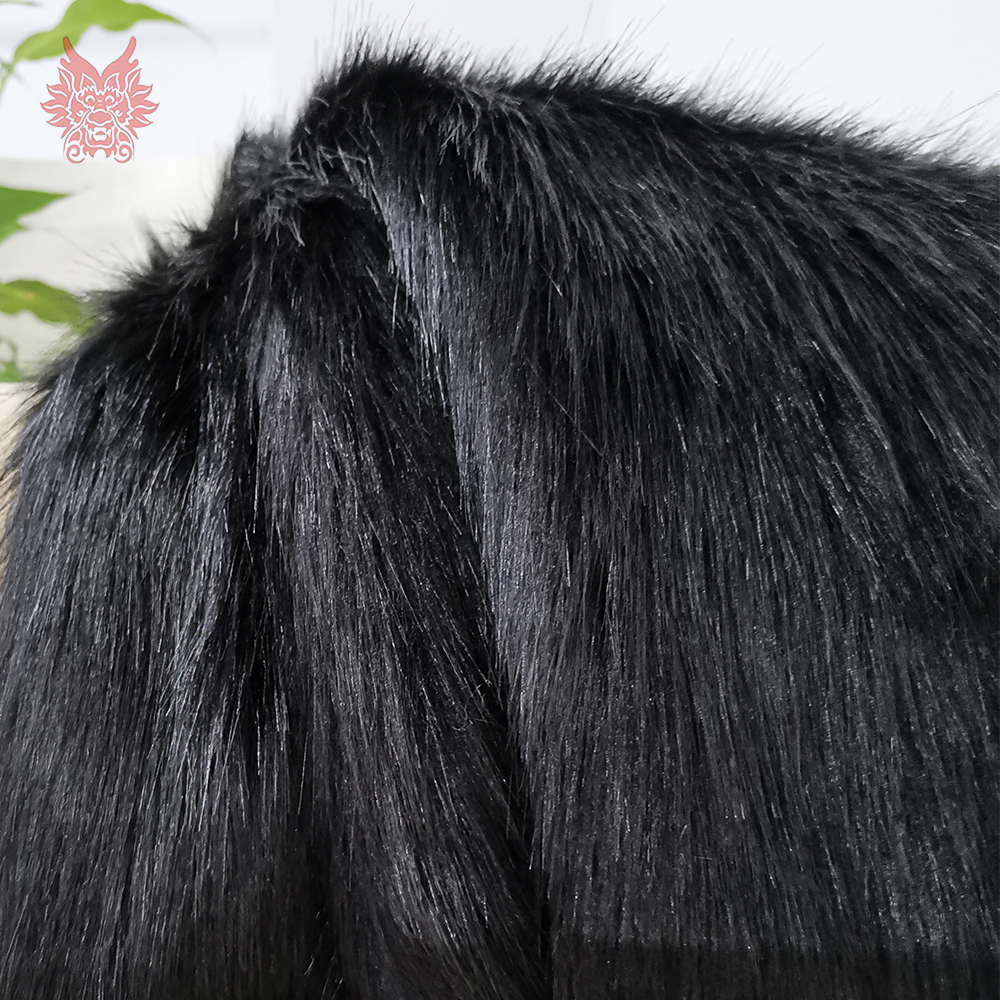 American Style 5cm Plush Faux Fur Fabric For Winter Coat Vest Stage Decor DIY Fabric Tissue 150*50cm 1pc Free Shipping SP3913