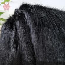 Американский стиль 5 см плюш искусственный мех Ткань для зимнего пальто жилет сценический Декор DIY ткань 150*50 см 1 шт. SP3913