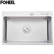 Dish-Basin Kitchen-Sink Stainless-Steel FOHEEL Drain-Pipe with And Single-Slot