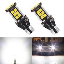 2x W16W 921 T15 светодиодный Canbus резервный Обратный Свет для hyundai Tucson IX35 IX25 Santa Fe Sonata 9 Tucson 6000K белый