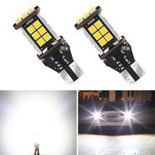 2 lâmpadas led para mazda de 3, 921 CX-5 5 cx5 2, sem erro, 323 t15 w16w luzes reversas de backup para carro 626, branco xenon 12v 6000k