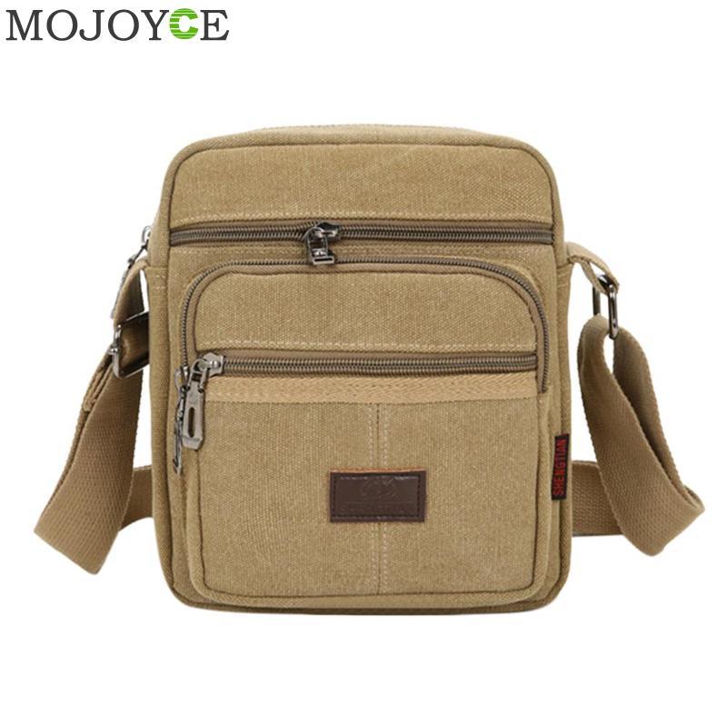 Men's Fashion Travel Cool Canvas Bag Men Messenger Crossbody Bags Bolsa Feminina Shoulder Bags Pack School Bags For Teenager