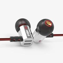 KZ ED9 ear heavy bass music mobile phone headset fever HIFI zinc alloy metal earphones EDR1/ED2/ZS3