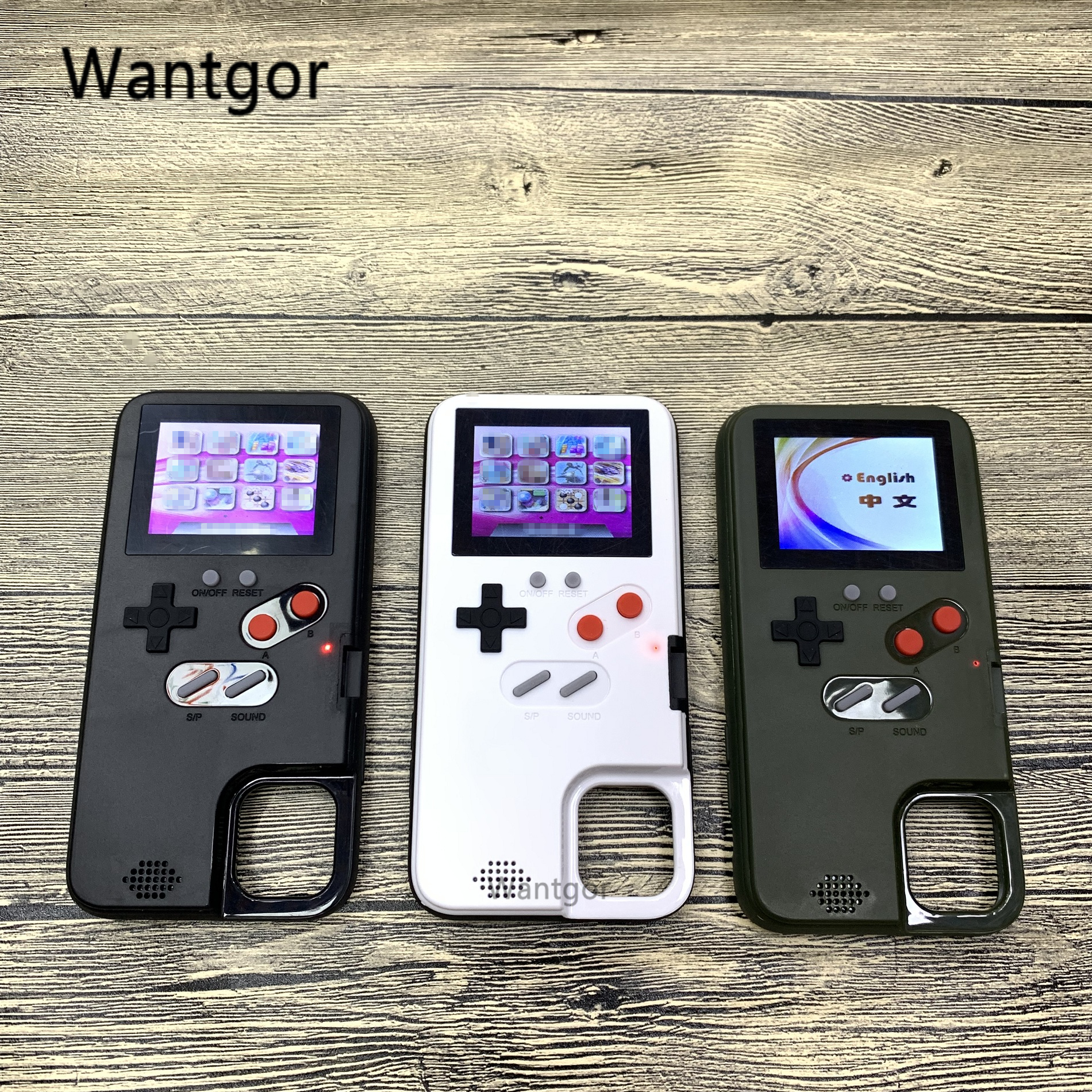 Cor cheia de exibição 36 jogo clássico para iphone 11 pro x xs max xr 6 s 7 8 plus caso do telefone jogo menino macio silicone capa coque