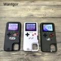 Volle Farbe Display 36 Klassische Spiel Für iPhone 11 Pro X XS Max XR 6S 6 7 8 Plus telefon fall Game boy Weiche Silikon Abdeckung coque|Angepasste Hüllen|   -
