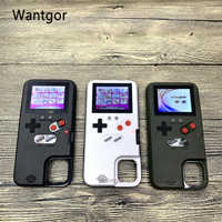 full Color Display 36 Classic Game For iPhone 11 Pro X XS Max XR 6S 6 7 8 Plus phone case Game boy Soft Silicone Cover coque