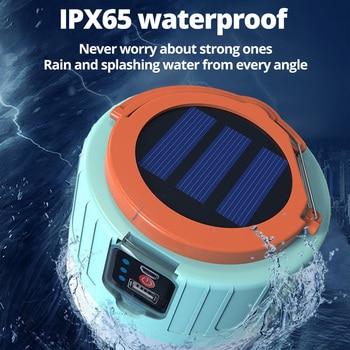 280W Newest Camping Light Solar Outdoor USB Charging 3 Mode tent Lamp Portable Lantern Night Emergency bulb Flashlight For BBQ 3