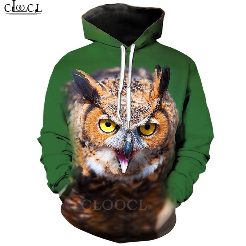 Mens Women 3D Print Animal Eye Owl Sweatshirt Hoodies Jogging pants Sport Suit