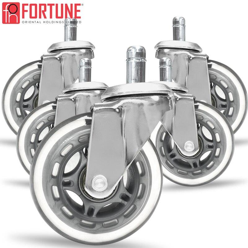 Roda resistente de borracha para cadeiras, entrega rápida, rodas de borracha para cadeiras de escritório, móveis-1