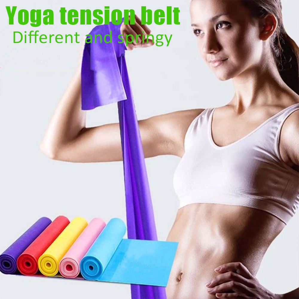 Yoga Tension Belt Flexibility Leg Stretch Strap Exercise Sports Resistance Tape Multifunction Fitness Elastic Yoga Rally Belt