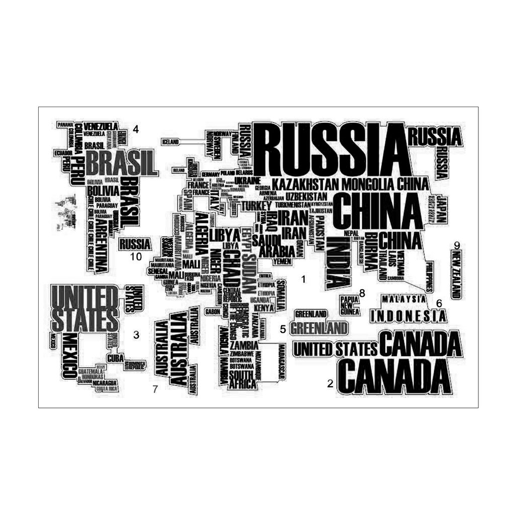 Home Decor Poster Letter World Map Quote Removable Vinyl Art Decals Mural Living Room Office Decoration Wall Stickers image