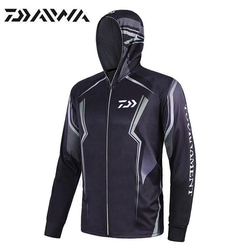 Daiwa Fishing Clothing Anti UV Hiking Camping Sport Wear Quick Drying Cycling Jerseys Breathable Vest DAIWA Pesca Camiseta