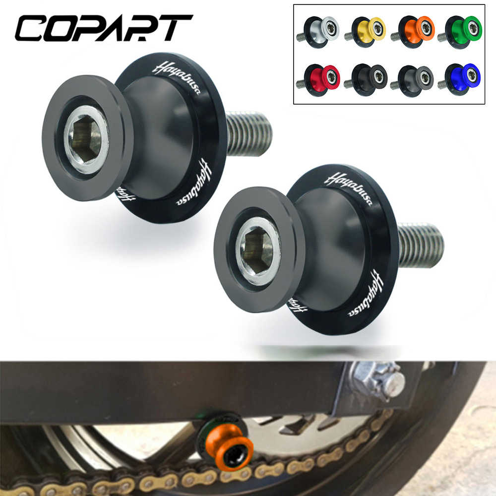 OSBUN Swingarm Spools Sliders For Suzuki Hayabusa GSX1300R 1999-2020 2019 2018 2017 2016 Black
