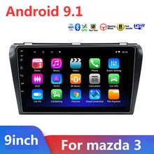9 inch 2 Din Android 9,1 Auto-Multimedia-Player Für Mazda3 Mazda 3 2004 - 2012 Auto Radio 2din GPS navigation FM Kamera DVR OBD(China)