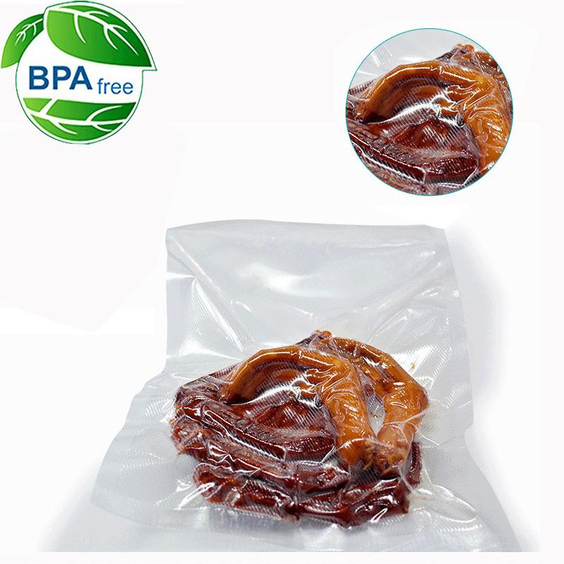 500cm Waterproof Food Vacuum Sealer Bag Suitable For All Type Of Fruit And Vegetable 4