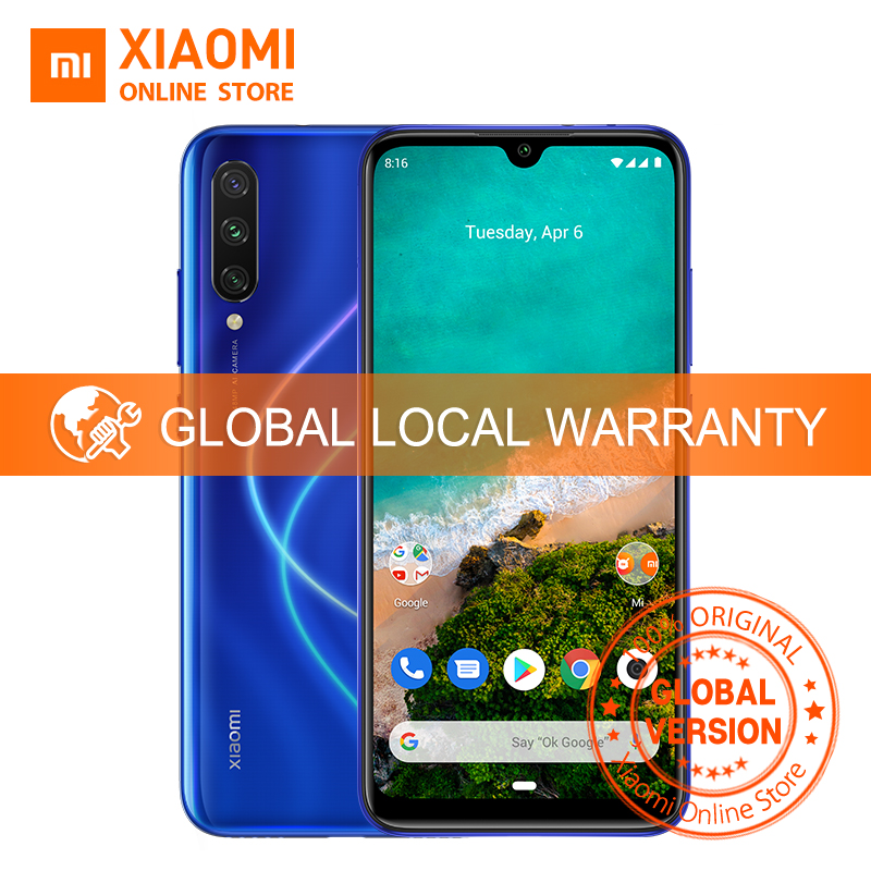Global Version Xiaomi Mi A3 4GB 128GB Smartphone CC 9e Snapdragon 665 Octa Core 6.088