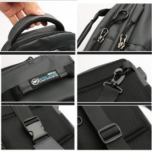 Image 4 - Praca Crossbody torby USB ładowanie rowerowa torba piersiowa krótka wycieczka posłańcy torba na klatkę piersiowa wodoodporna torba na ramię mężczyzna