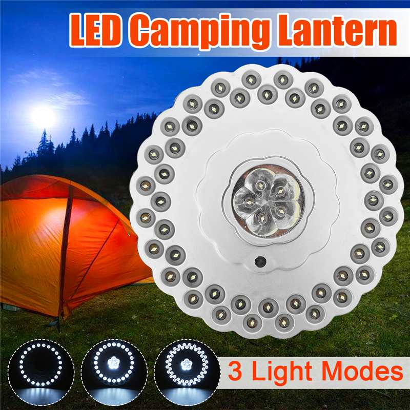 New LED Hook Camping Tent Light Hanging Lamp Portable Lantern LED Bulb Battery Outdoor Emergency Lamp