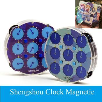ShengShou Clock M Magnetic Sengso Cube Puzzle Magic Cubes Intelligence Children's Toys