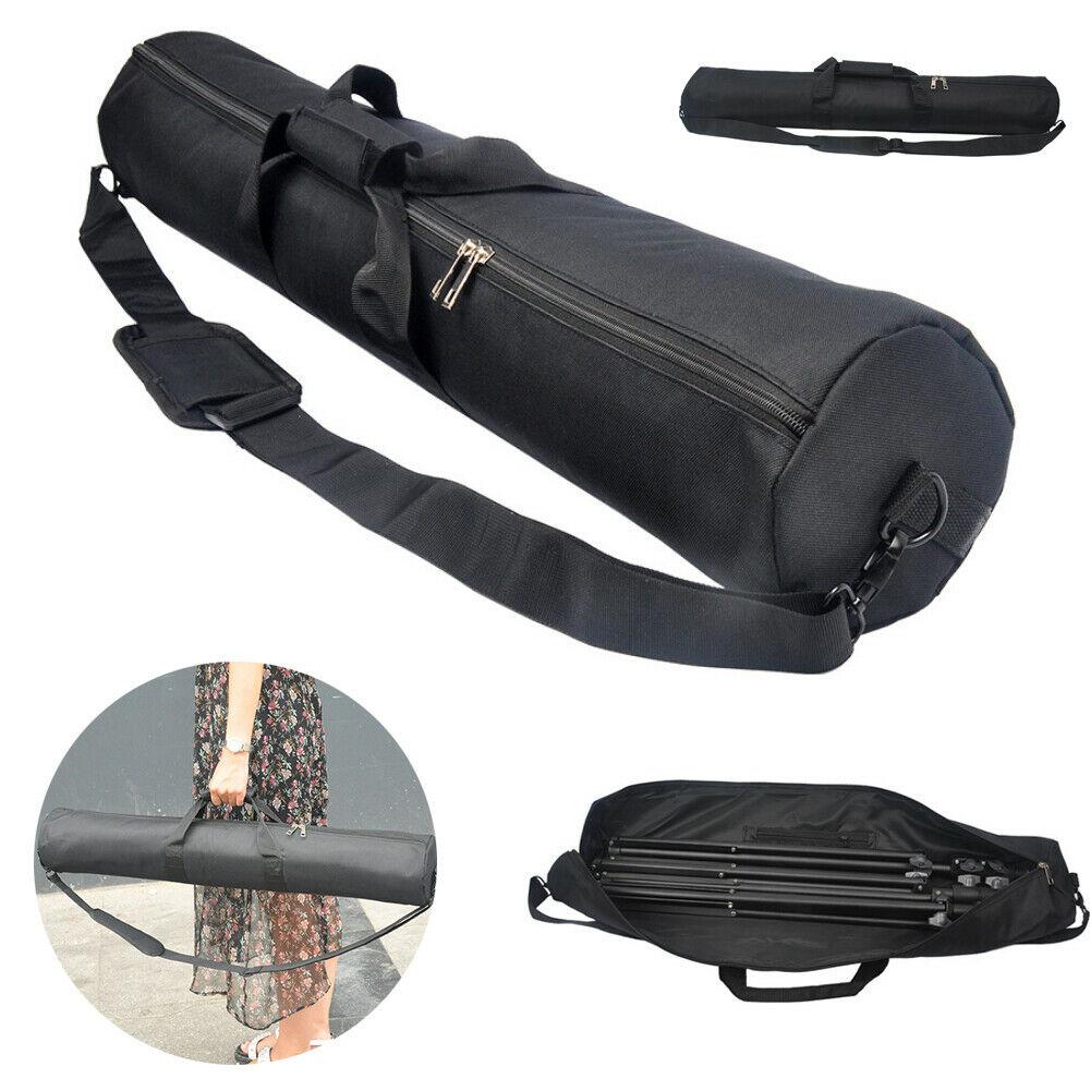 55cm 60cm 65cm 100cm Padded Strap Camera Tripod Carry Bag Travel Case Traveling Accessories