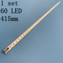 """Bande de rétro éclairage LED utilisée 60 lampe pour TOSHIBA 32 """"TV traîneau 32KL933R 2011SGS32 5630N2 60 LED32HS11LJ64 03597A FW201281A0"""