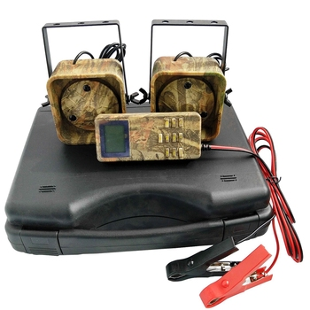 NEW-Hunting Decoy Mp3 Bird Caller Sounds Player Built-In 200 Bird Voice Hunting Decoy 2 Players 50W Animal Caller for Hunting Ca