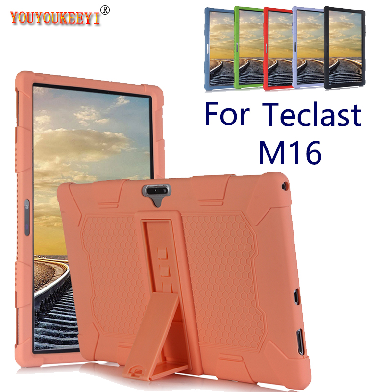 Silicone Case for Teclast M16 11.6inch tablet pc Comes with stand function anti-fall protection cover for m16 +stylus as gift