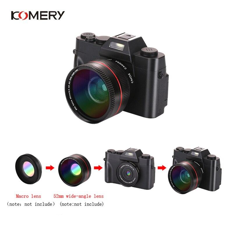 Цифровая многофункциональная камера флип экран Автоспуск с объективом, без объектива Набор SLR авто, 100, 200, 400 - 6