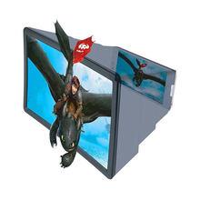 Mobile universal 3d screen amplifier projector display enlarged