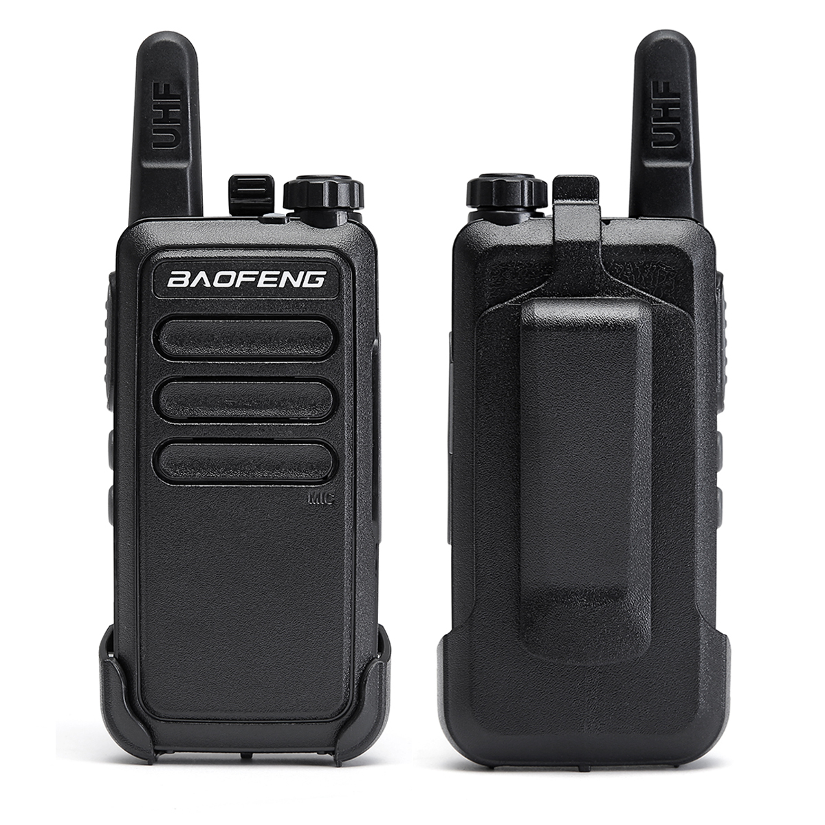 Image 5 - 2 Pcs Baofeng BF C9 Portable Radio Mini Walkie Talkie 400 470MHz UHF VOX USB Charging Handheld Two Way Ham Radio CommunicatorWalkie Talkie   -