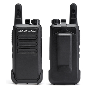 Image 5 - 2 pièces Baofeng BF C9 Portable Radio Mini talkie walkie 400 470MHz UHF VOX USB charge ordinateur de poche bidirectionnel jambon Radio communicateur