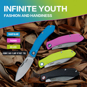 SANRENMU NEW 7315 Pocket Folding Knives 12C27 Blade Survival EDC Tool outdoor camping hunting tactical knife недорого