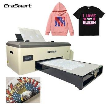A3 Desktop Heat Transfer Pet Film Dtf Printer For Textile Fabric T-Shirt Printing 1