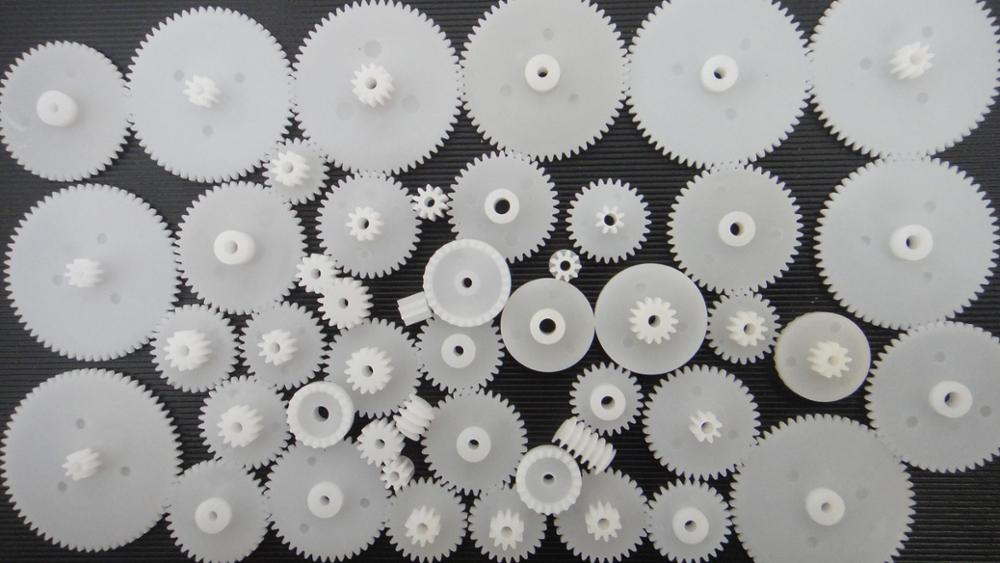 46/58/72 Types Plastic Gear Motor Gear Science Technology Gear Small Production DIY Toy Model Accessories