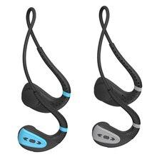 Q1 Bone Conduction Bluetooth Headset IPX8 Swimming Head Mounted
