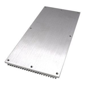220x100x8mm Rectangle LED Heatsink Aluminum Cooling Board Radiator for COB LED Light Bulb Heat Dissipation Radiating Panel