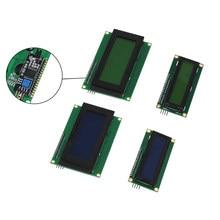 Controlador 2004 + iic/i2c, lcd 2004 20x4 personagem, módulos de tela lcd hd44780, retroiluminação da tela azul para lcd arduino