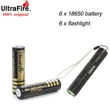 2/4/6pcs/lot 18650 batteries High Quality 18650 4000mAh 3.7V PCB Protected Rechargeable Li ion Batteries